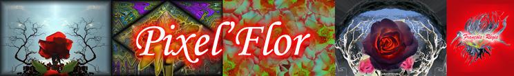 Bannière Pixel`Flor