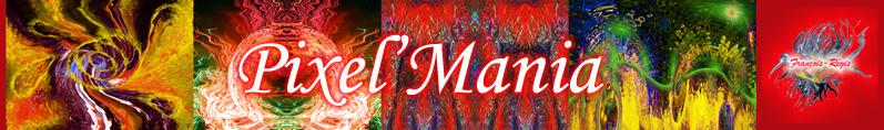 Pixel-Mania ou ballet de couleurs en images numériques