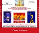 Créations de cartons pour invitations personnalisés par François-Régis Hoareau infographiste digigraphe