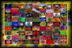 Photographies métamorphosée pour réalisations de tableaux décoratifs `design` et harmonieux par François-Régis Hoareau photographe artiste infographiste digigraphe