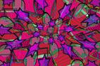Graphismes en images numériques et digitales, à partir de photographies ou croquis géométriques réalisées par François-Régis Hoareau, alias `FRHAID` artiste ingraphiste designer dans un bouquet color
