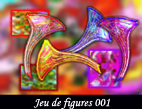 Métamorphoses sur photographies pour élaborations de figures géométriques avec harmonie de formes et de couleurs réalisées pat François-Régis Hoareau photographe artiste infographiste et digigraphe