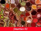 Photographies projetées par leur palette dans un ballet de couleurs pour des images numériques et digigraphiques abstraites par François-Régis Hoareau photographe artiste infographiste digigraphe