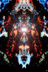 Jeux de couleurs et de formes en images numériques et digitales à partir de photographies, graphismes et infographie par François-Régis Hoareau photographe artiste infographiste digigraphe