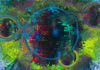 Photographies numériques pour des images en un ballet de couleurs pour créations de stores et de décorations murales par François-Régis Hoareau photographe artiste infographiste digigraphe